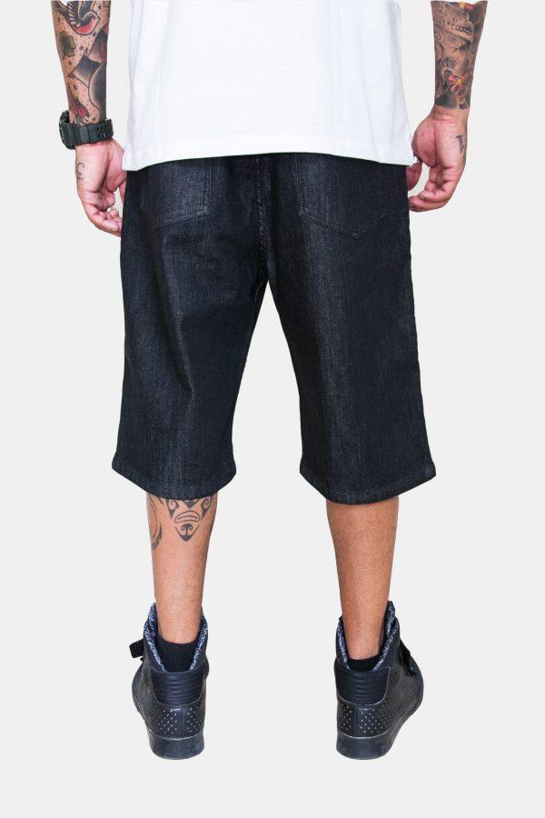 Bermuda Jeans DC Straight com bordado 2