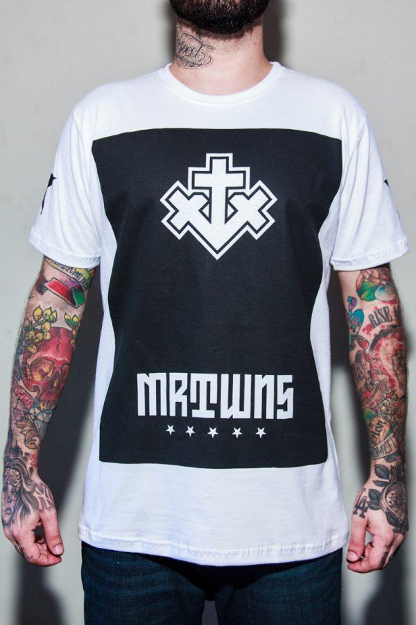 Camiseta More Than Winners (MTW) Block - Branca 1
