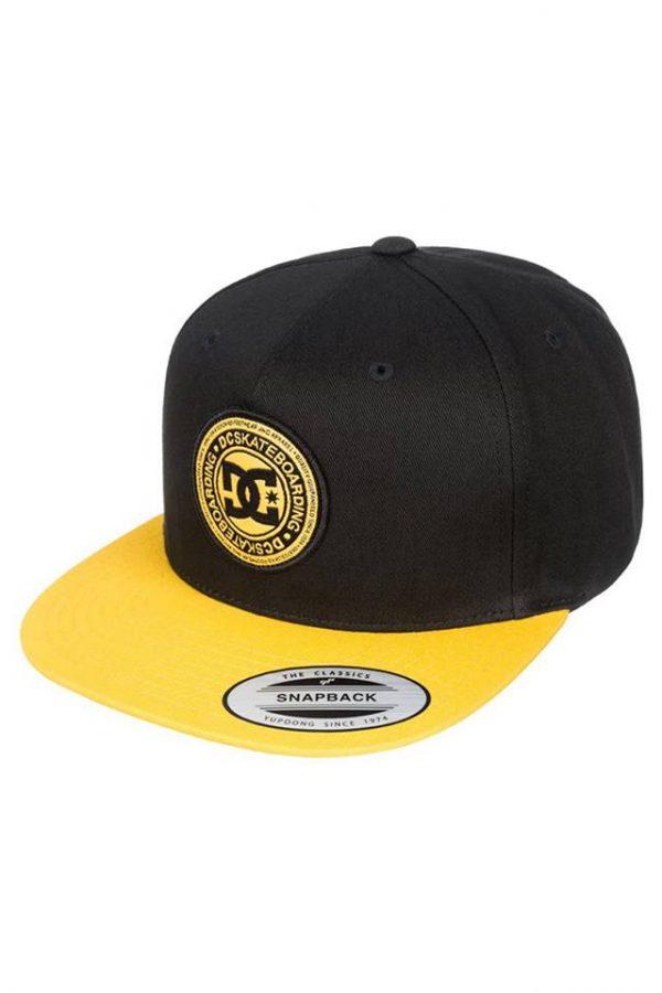 Boné DC Stapler Black / Yellow 1
