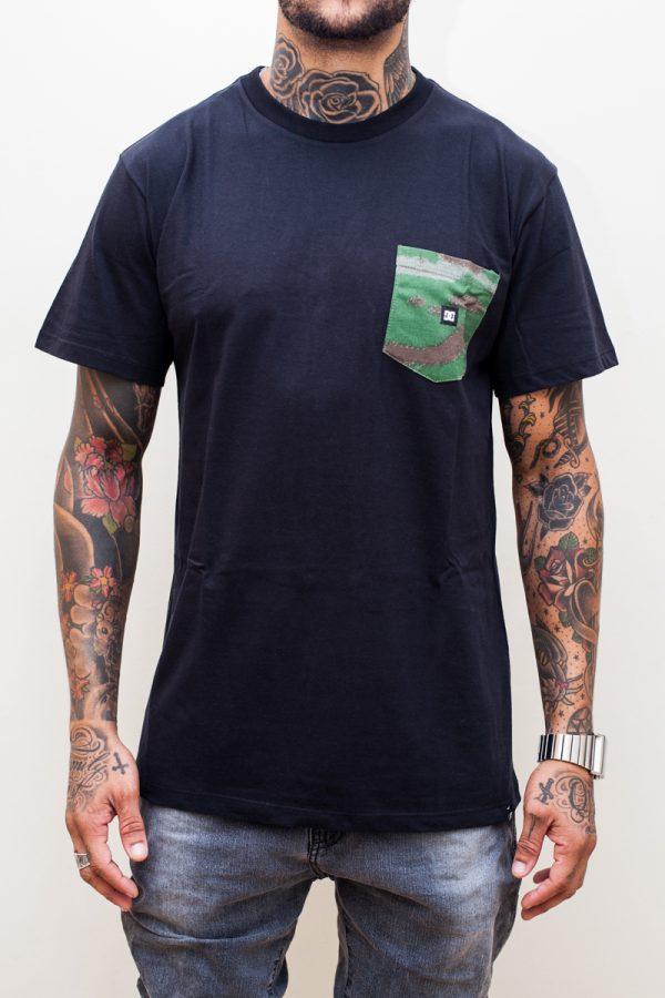 Camiseta DC Camo Pocket Black 1