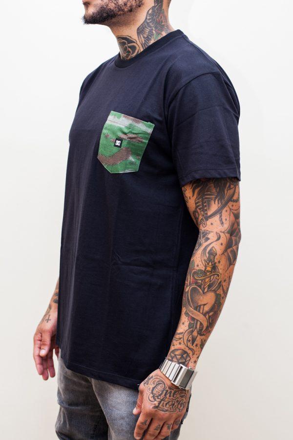 Camiseta DC Camo Pocket Black 2