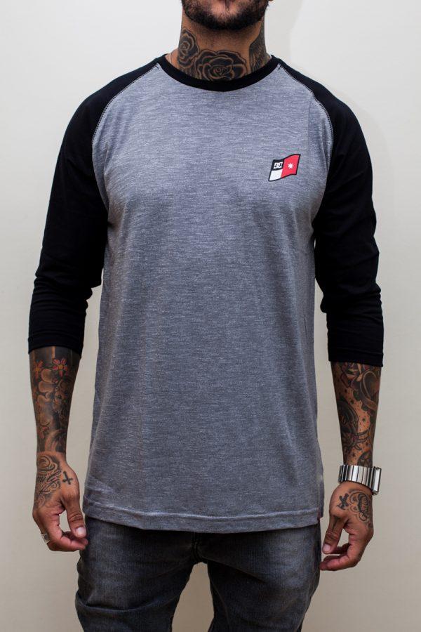Camiseta Raglan DC Core Mix/Black 1