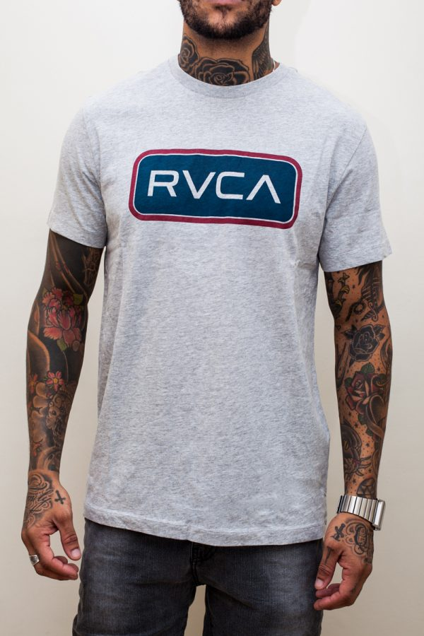 Camiseta RVCA Service Grey 1