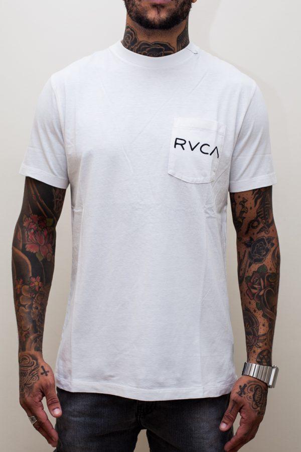 Camiseta RVCA Beware White 1