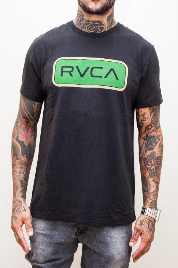 Camiseta RVCA Service Black 1