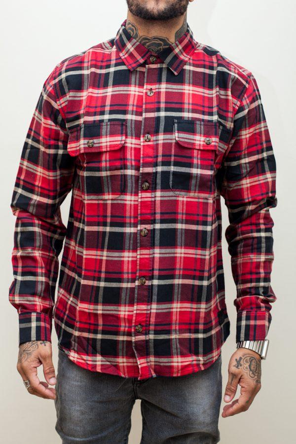 Camisa Xadrez DC Lamper Wes Kremer 1