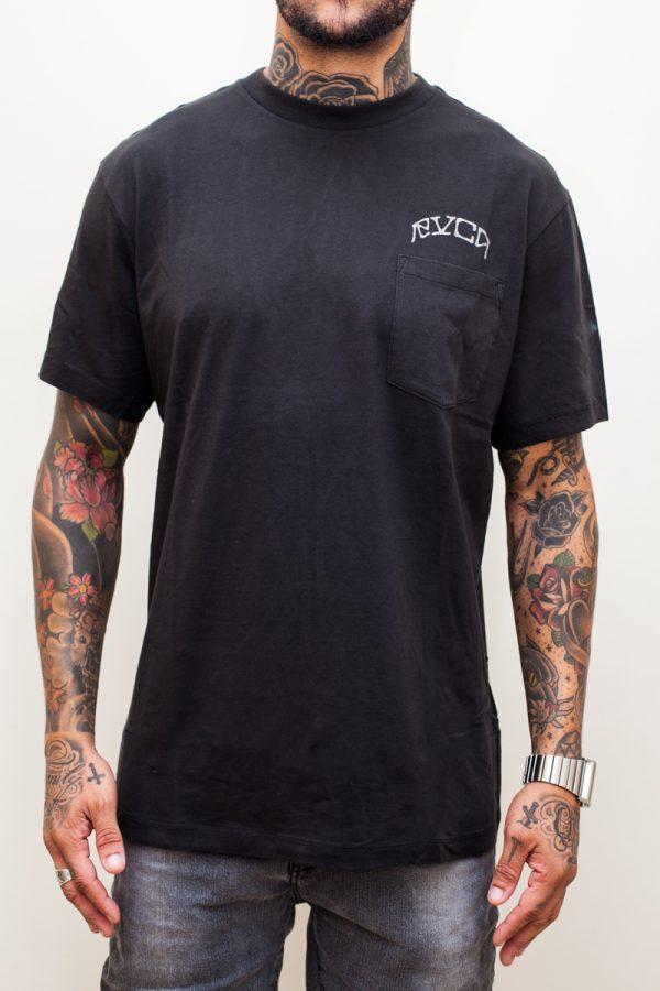 Camiseta RVCA Wowt Black 1