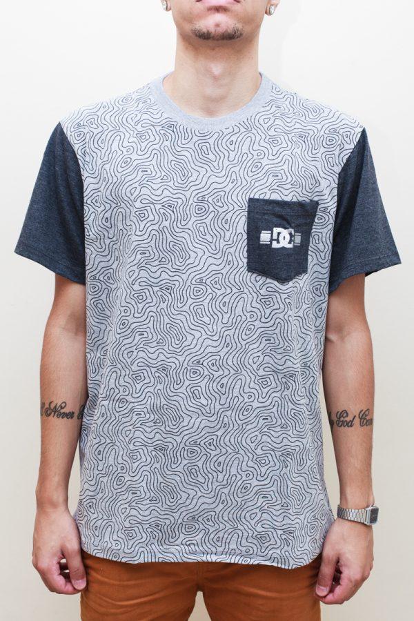 Camiseta DC Rob Dyrdek Topo Map - 1 1