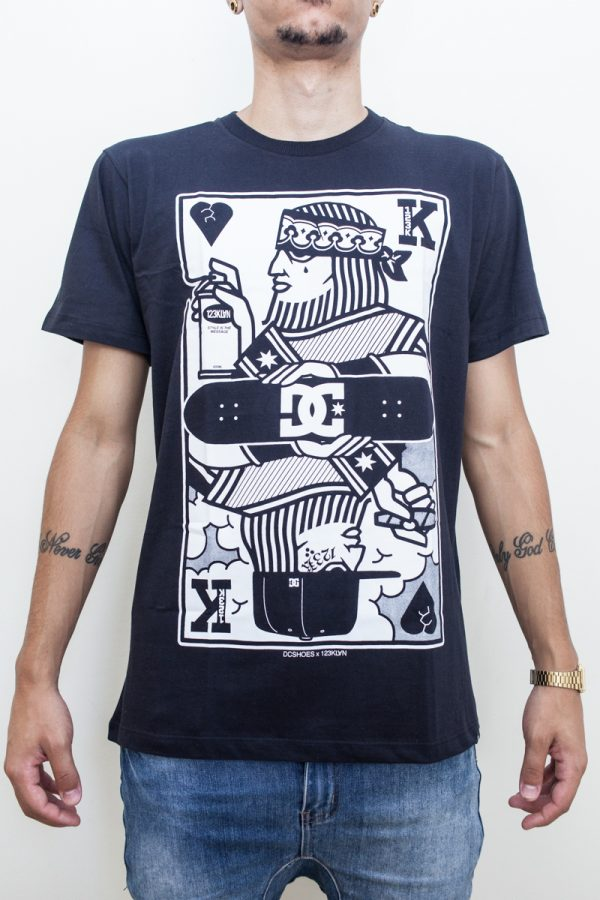 Camiseta DC X 123Klan King Card - 2 1