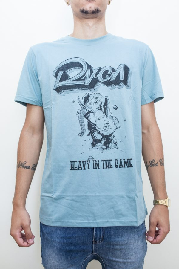 Camiseta RVCA Heavy - 1 1