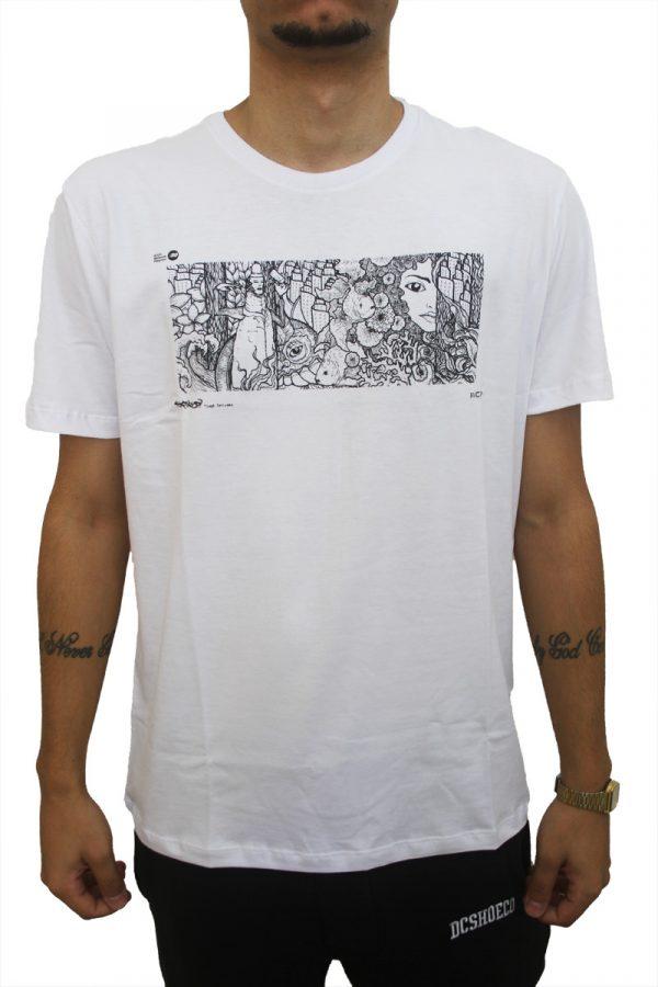 Camiseta RVCA Grafite 1