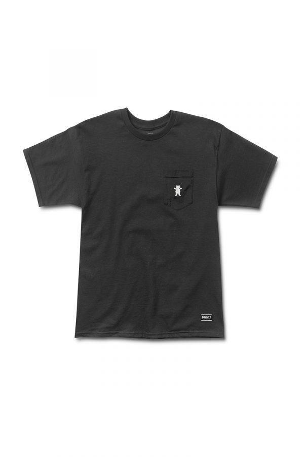 Camiseta Grizzly Bear Embroyed Pocket 1