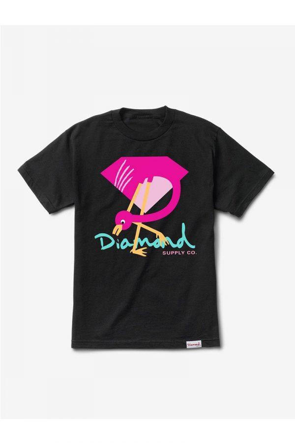 Camiseta Diamond Flamingo Sign 1