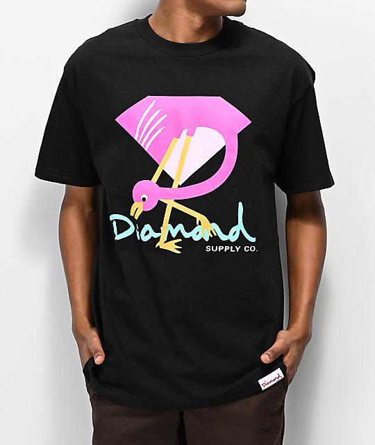Camiseta Diamond Flamingo Sign 2