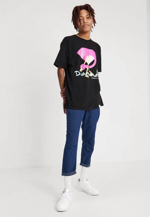 Camiseta Diamond Flamingo Sign 3