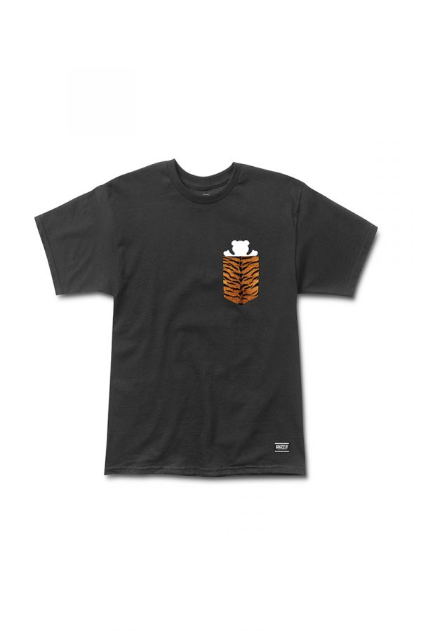 Camiseta Grizzly Tiger Pocket 1