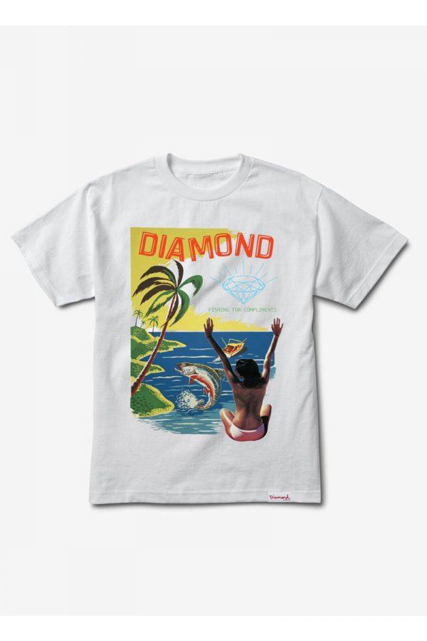 Camiseta Diamond Fishing For Compliments 1