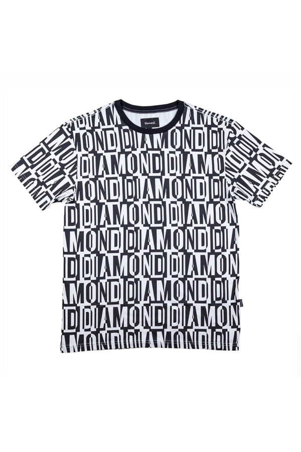 Camiseta Diamond Jumbled 1