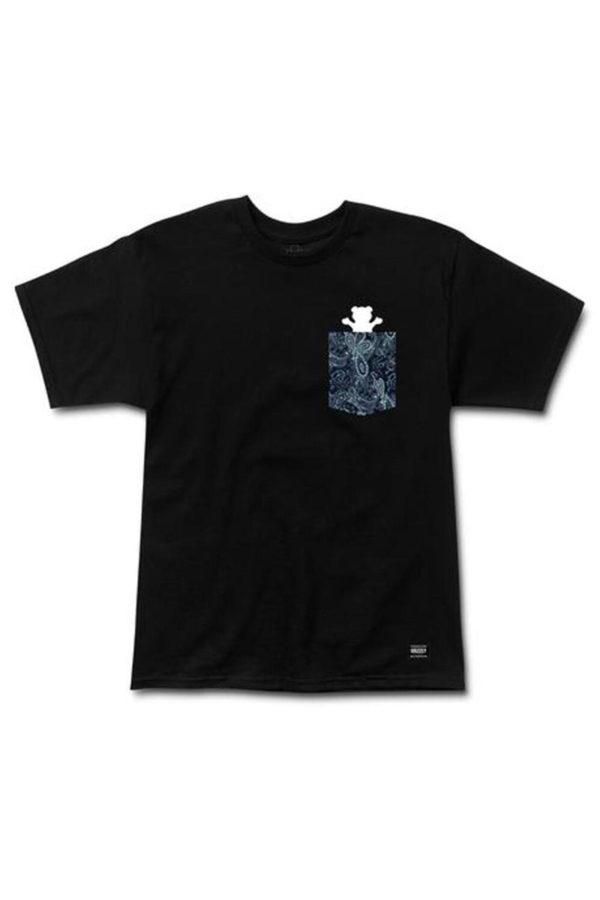 Camiseta Grizzly Og Bear Pocket Paisley 1