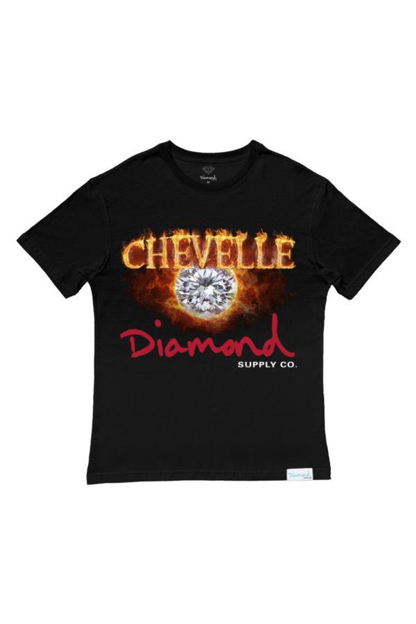 Camiseta Diamond X Chevelle Burnout Crew 1